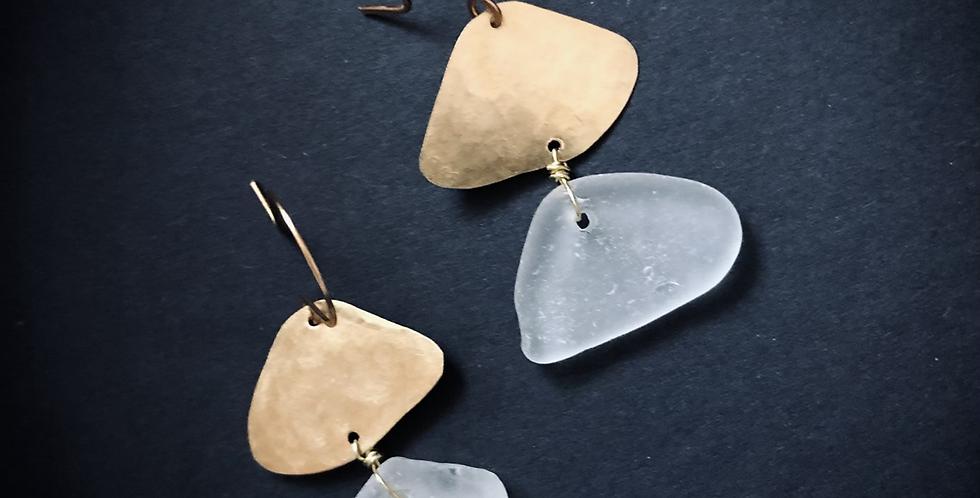 Sea Glass Earrings | No. 11