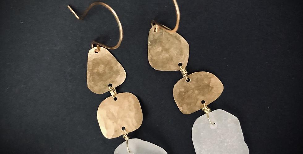 Sea Glass Earrings | No. 27