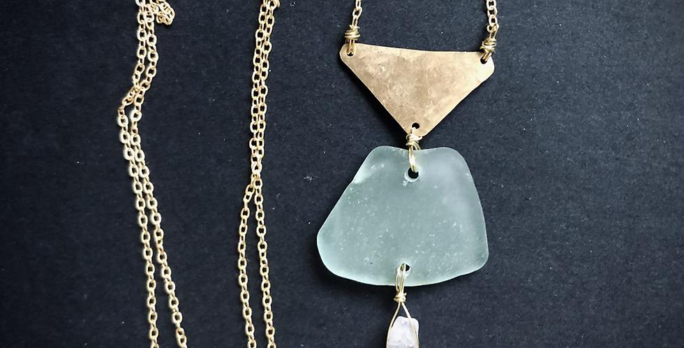 Sea Glass Necklace | No. 8