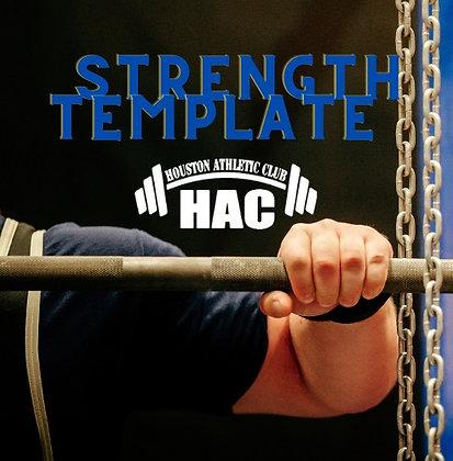 General Strength Template