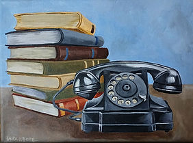 #09 Old phone and books.jpg