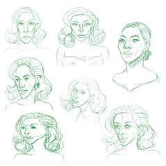 Lady Gaga - rough sketches