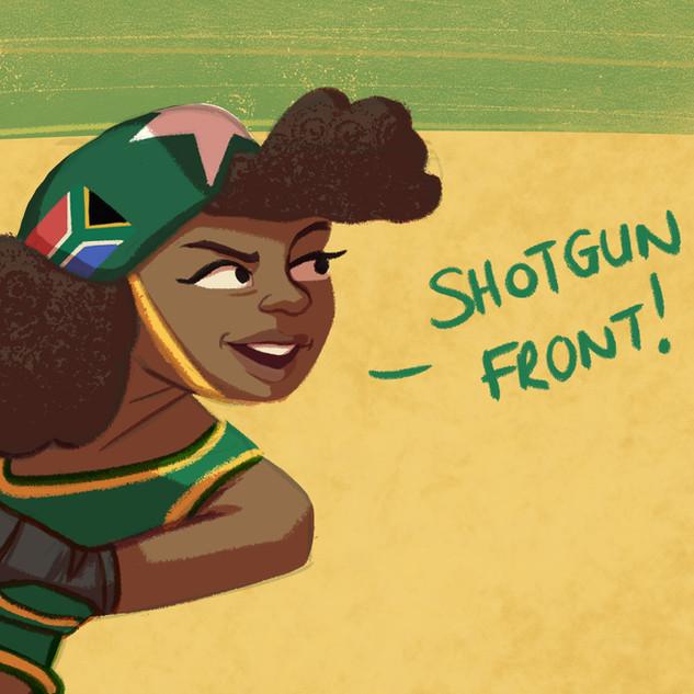 Shotgun Shelly - Detail 1