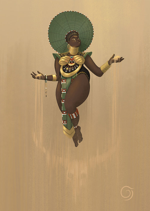 art, painting, illustration, concept art, artwork, digital, digital painting, african, african culture, tradition, women, strong, feminism, powerful, goddess, female, character