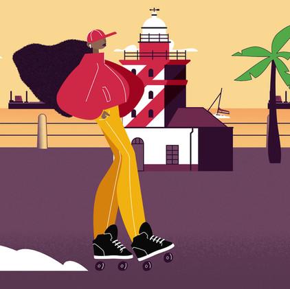 Skater Girl Loop
