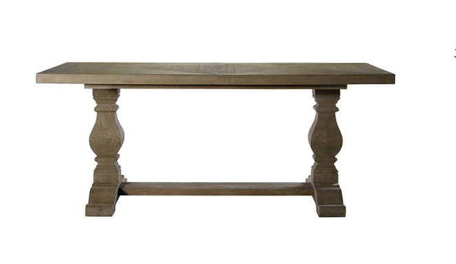 NEW TRESTLE DINING TABLE