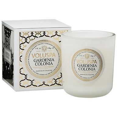 MAISON CANDLE-GARDENIA COLONIA FRAGRANCE