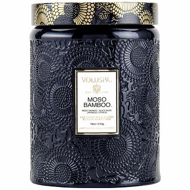 LARGE JAR CANDLE-MOSO BAMBOO FRAGRANCE