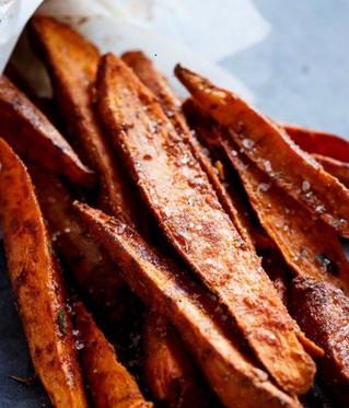 Sweet & Savory Sweet Potato Fries