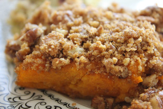 Sweet Potato Crumble | A Thanksgiving MUST