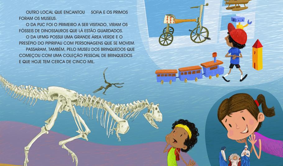 Ilustração para o livro: Passeando por Belo Horizonte