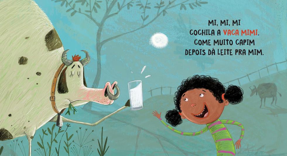 Ilustração para o livro: DÓ-RÉ-MI Dormir