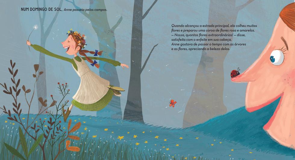 Ilustração para o livro: Anne of Green Gables
