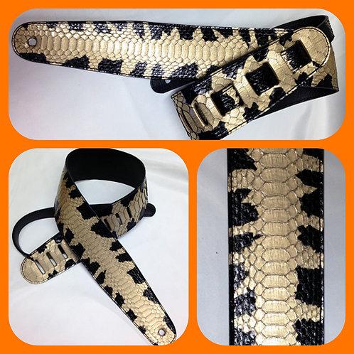 Black & Gold Starburst Python