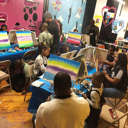 Daddy & Me Paint Class