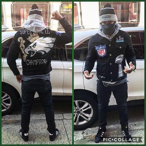 Custom Eagles Jacket