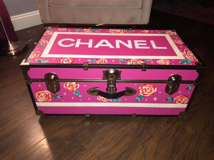 Chanel Inspired Trunk