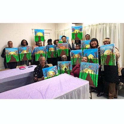 Church Fundraiser Paint Party