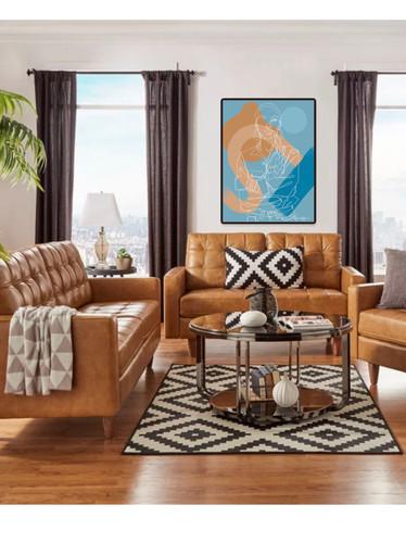 Sade Living Room Sample