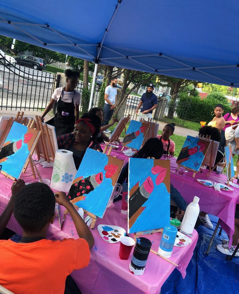 Children's Paint Class