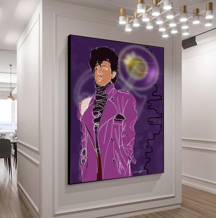 Prince space sample