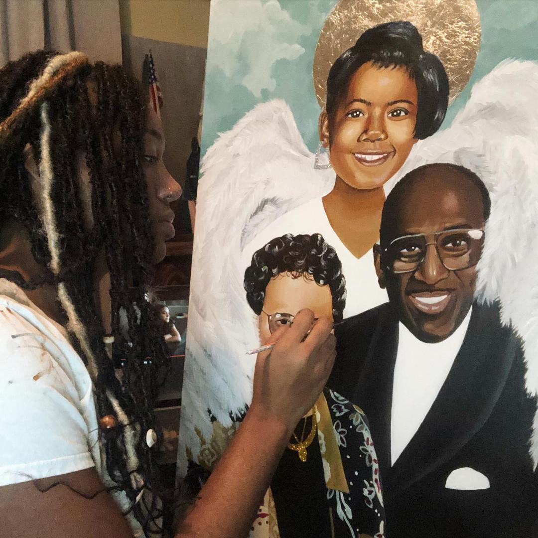 Triple Portrait Commission