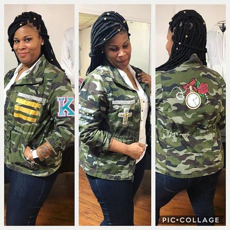 Custom Army Jacket