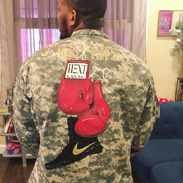 Custom Army Jacket