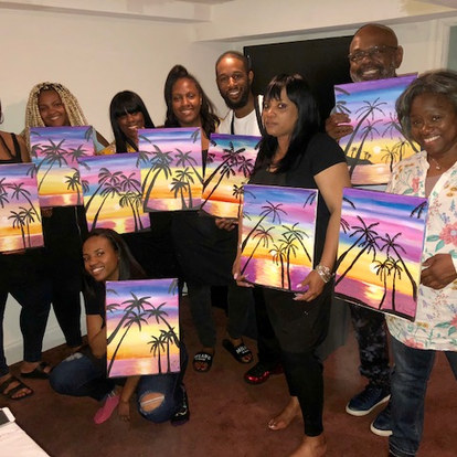 Mother's Day Paint Class