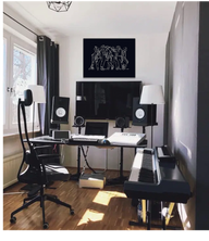 MJ studio mock up