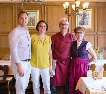 Wirtsleute Norberg& Brigitte Straub, Gaststätte Zur Hardhöhe