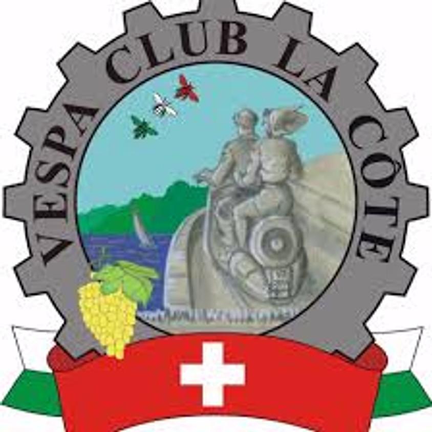 Sortie avec le Vespa Club La Côte