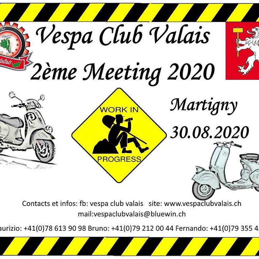 2ème Meeting du Vespa Club Valais