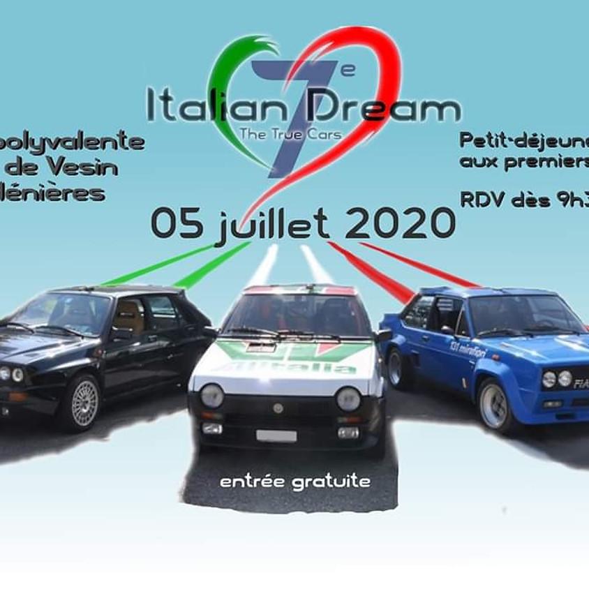 Evènement Italian Dreams à Ménières