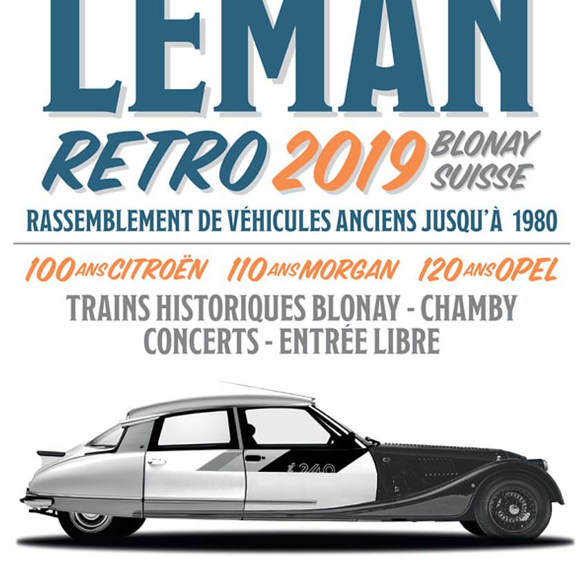 Sortie Léman Rétro Blonay