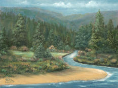 River in the Pines
