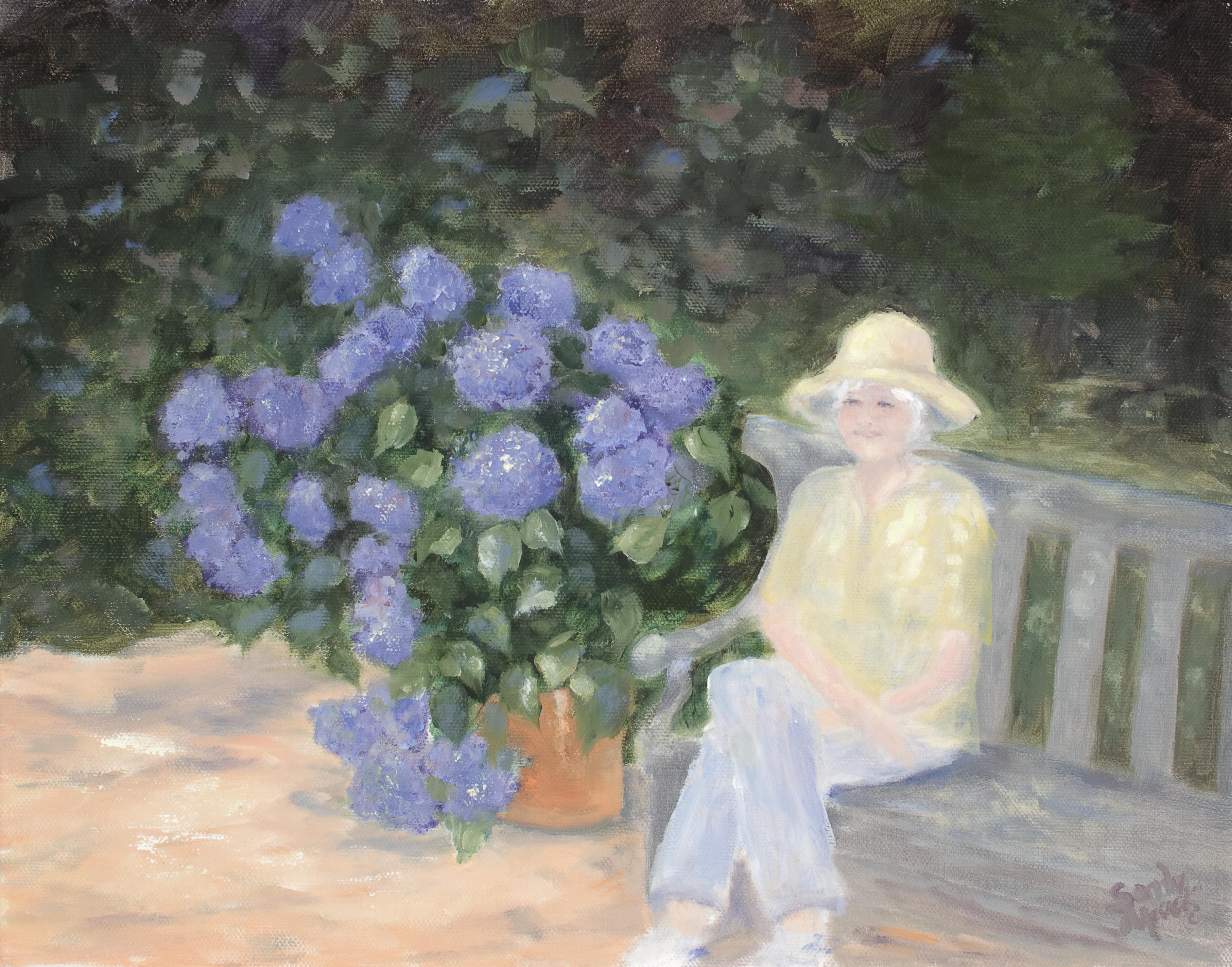 Grandma in her Garden