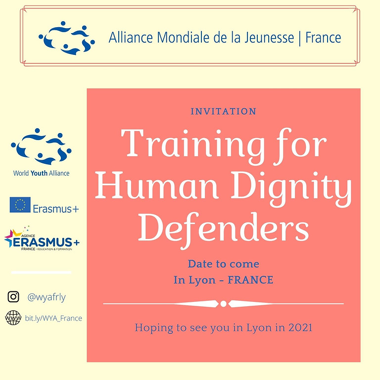 Training for Human Dignity Defenders
