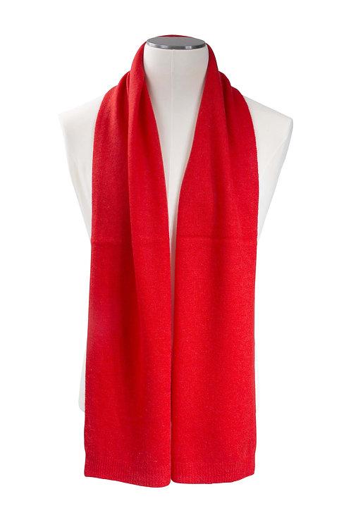 Écharpe cachemire tricotée - Tomato