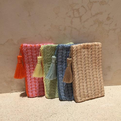 Clutch shopping sable