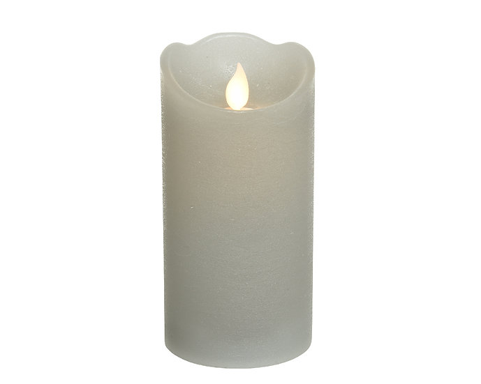 Grey LED Candle