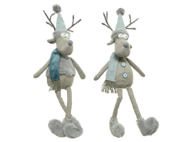 Deer with dangling legs