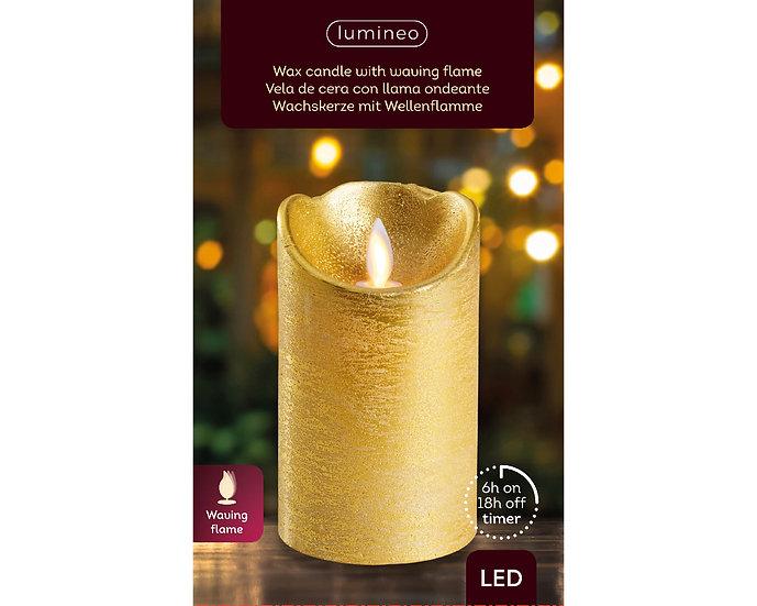Gold LED Candle