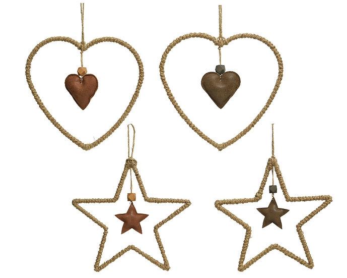 Heart/Star Decoration