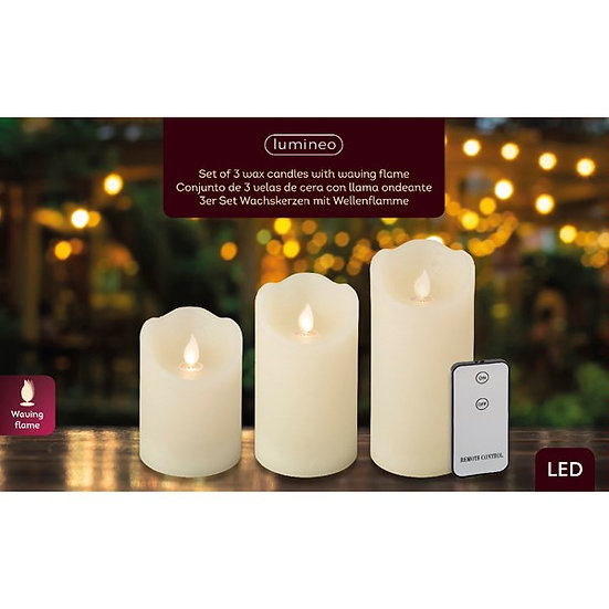 Set /3 LED Candles