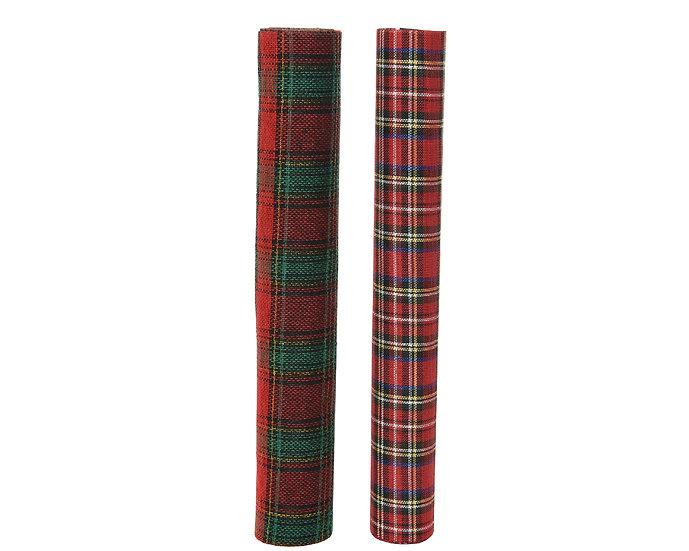 Tartan Fabric Roll