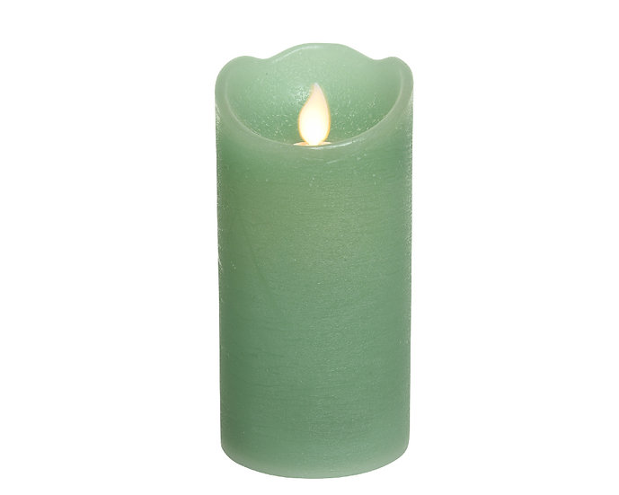 Green LED Candle