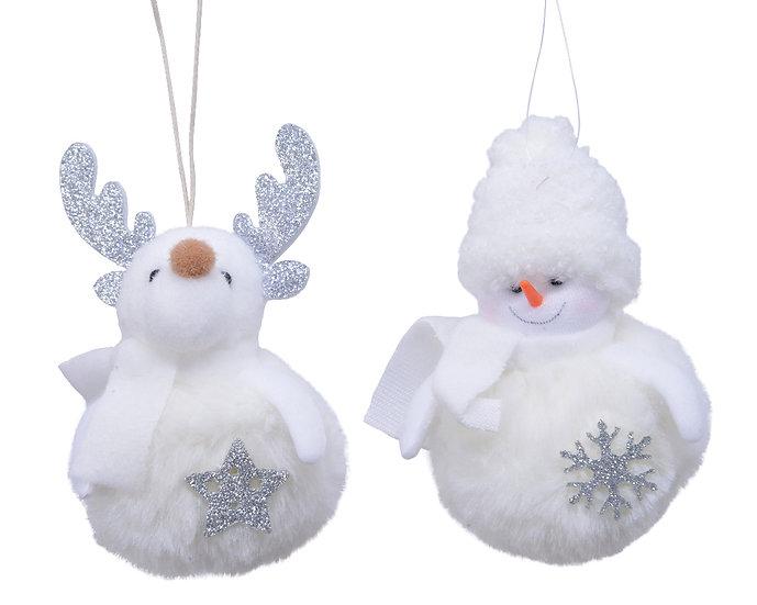 Reindeer/Snowman Decoration