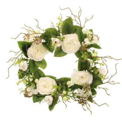 Rose/Hypericum Wreath