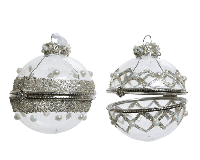 Opening Glass Bauble